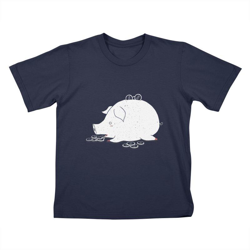 I'M SO FULL Kids T-Shirt by victoriuskendrick's Artist Shop