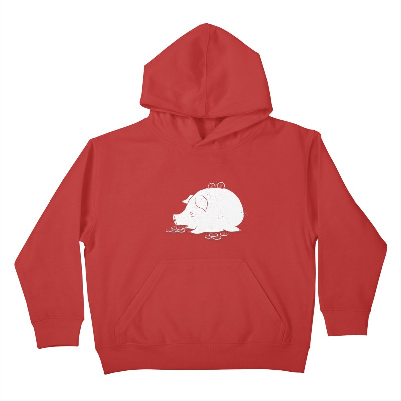 I'M SO FULL Kids Pullover Hoody by victoriuskendrick's Artist Shop