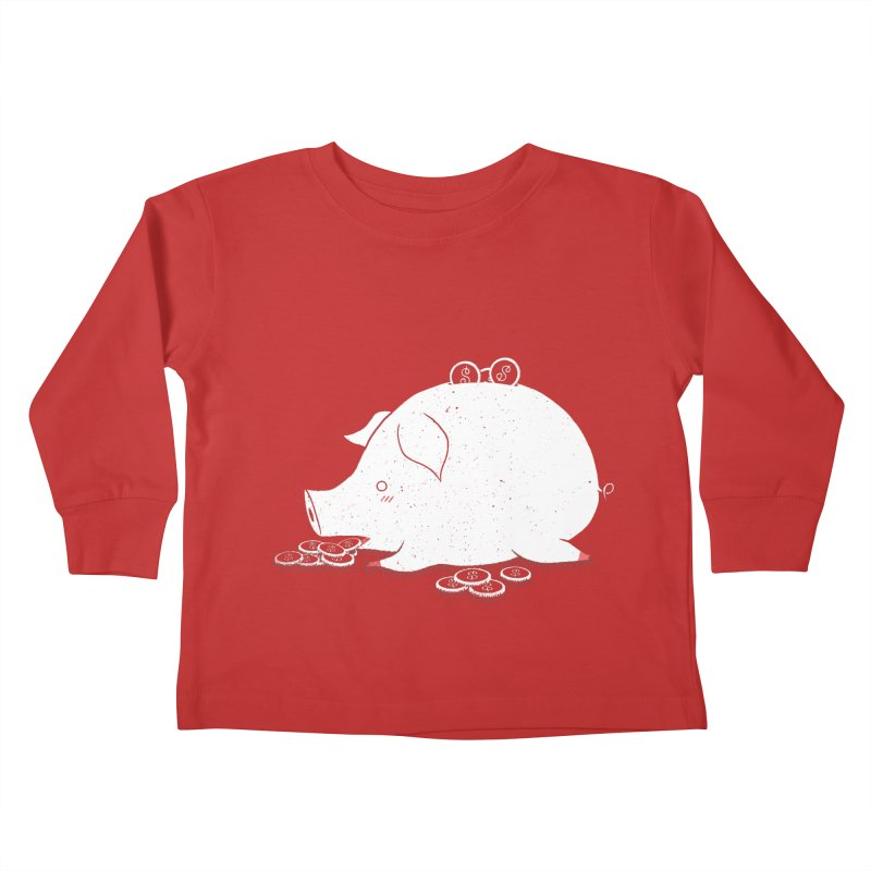 I'M SO FULL Kids Toddler Longsleeve T-Shirt by victoriuskendrick's Artist Shop