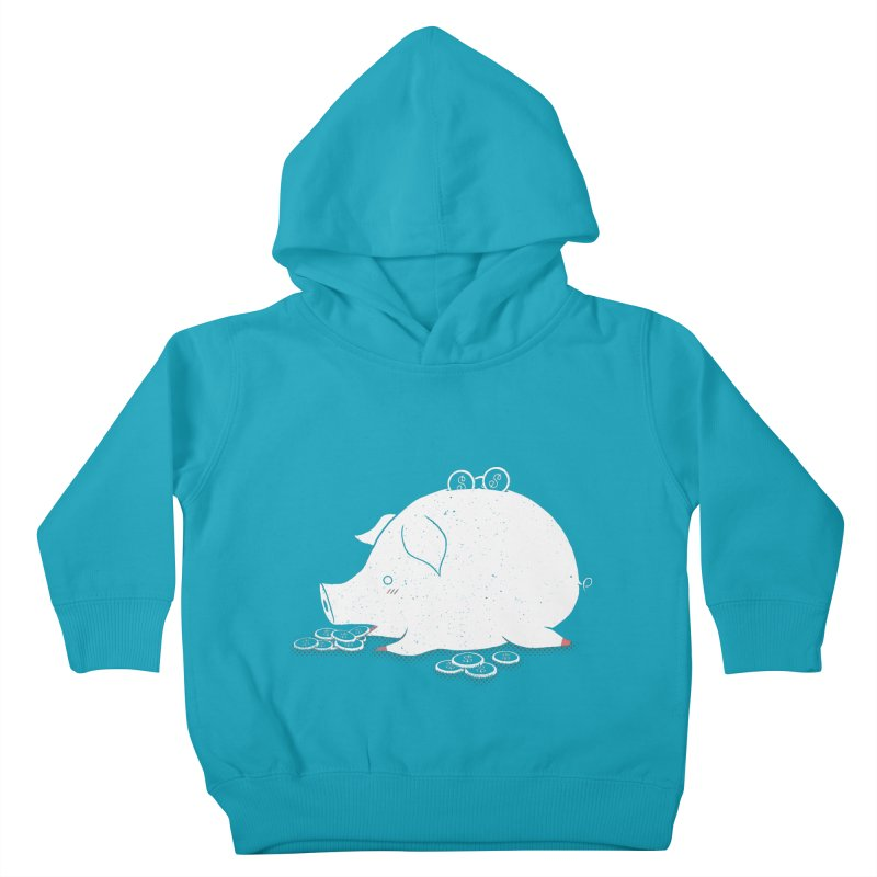 I'M SO FULL Kids Toddler Pullover Hoody by victoriuskendrick's Artist Shop