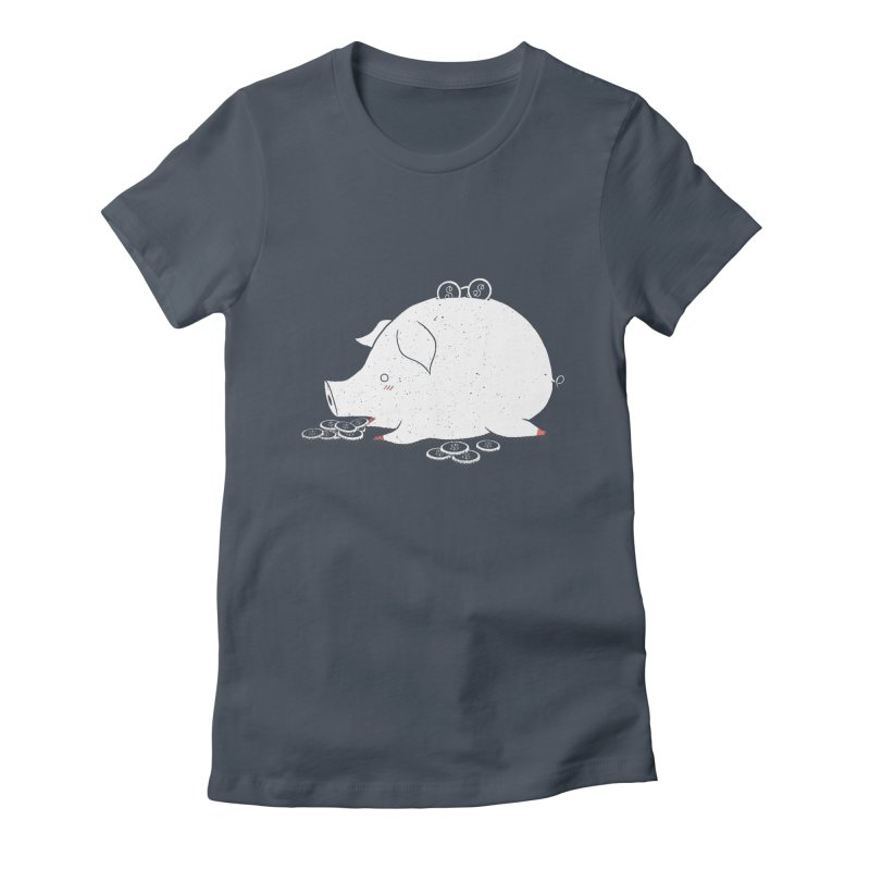 I'M SO FULL Women's Fitted T-Shirt by victoriuskendrick's Artist Shop