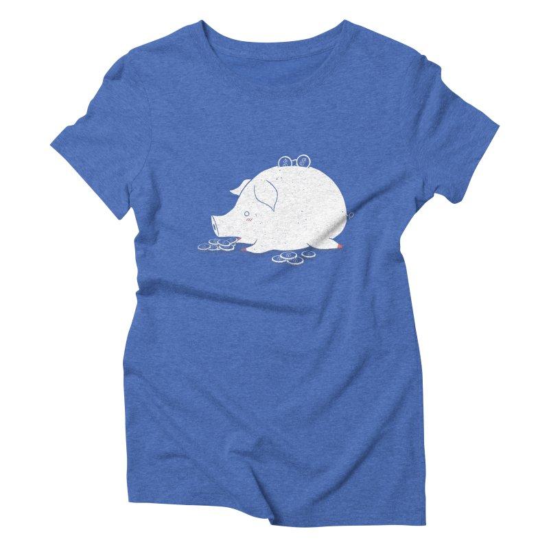 I'M SO FULL Women's Triblend T-Shirt by victoriuskendrick's Artist Shop