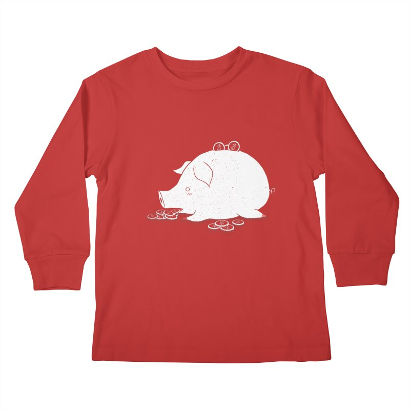 I'M SO FULL Kids Longsleeve T-Shirt by victoriuskendrick's Artist Shop