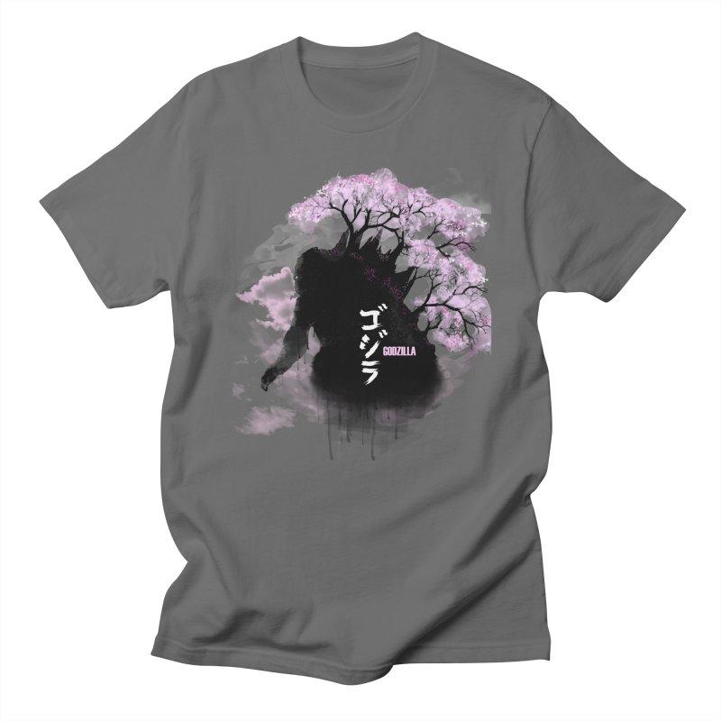 The Blossoming of Godzilla Men's T-Shirt by victorjimenezjr's Shop