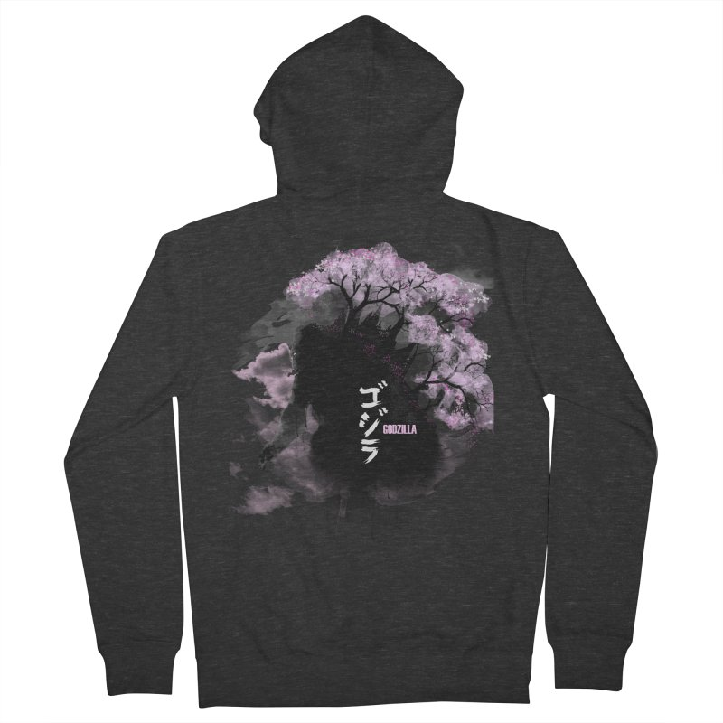 The Blossoming of Godzilla Women's Zip-Up Hoody by victorjimenezjr's Shop