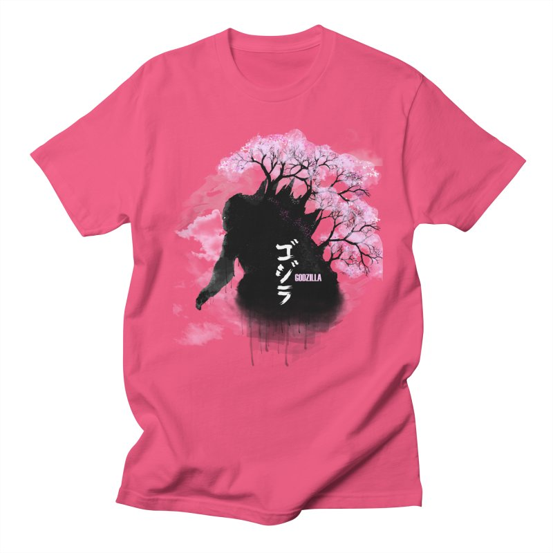 The Blossoming of Godzilla Men's T-shirt by victorjimenezjr's Shop