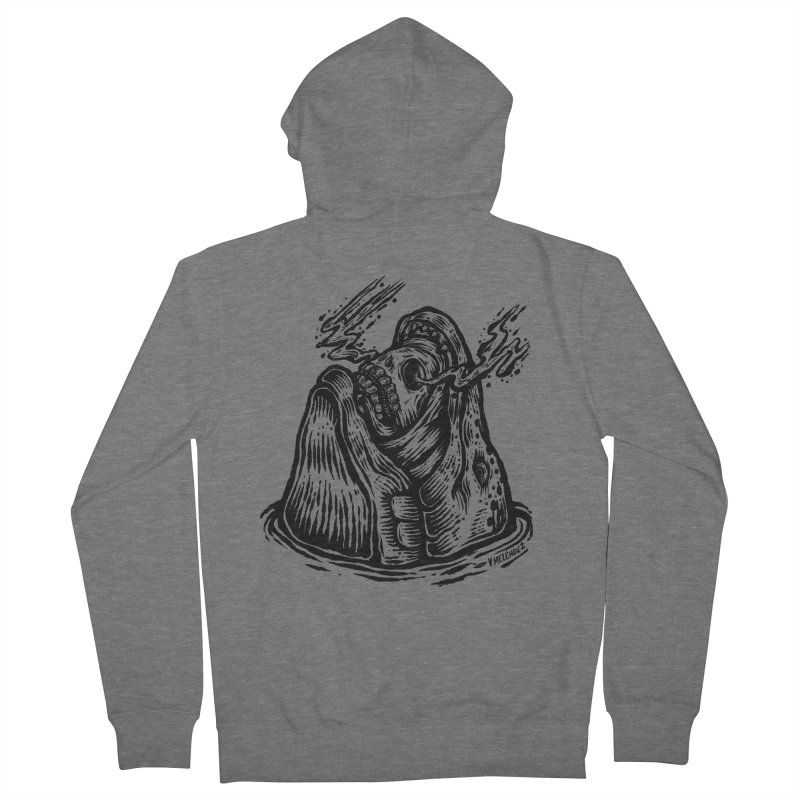 Fish Head Women's Zip-Up Hoody by Victor Melendez
