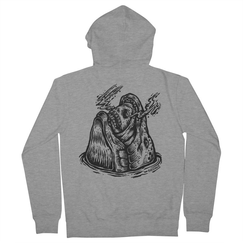 Fish Head Men's French Terry Zip-Up Hoody by Victor Melendez