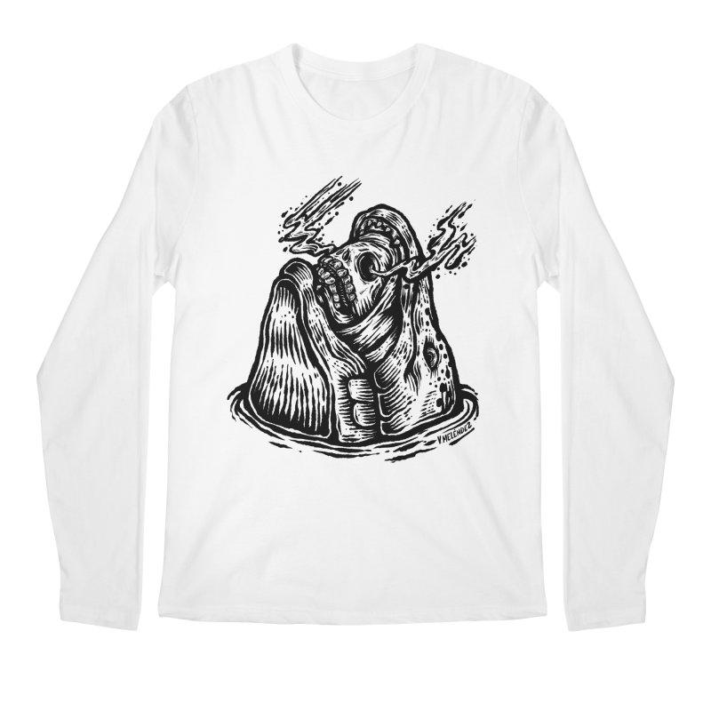 Fish Head Men's Longsleeve T-Shirt by Victor Melendez