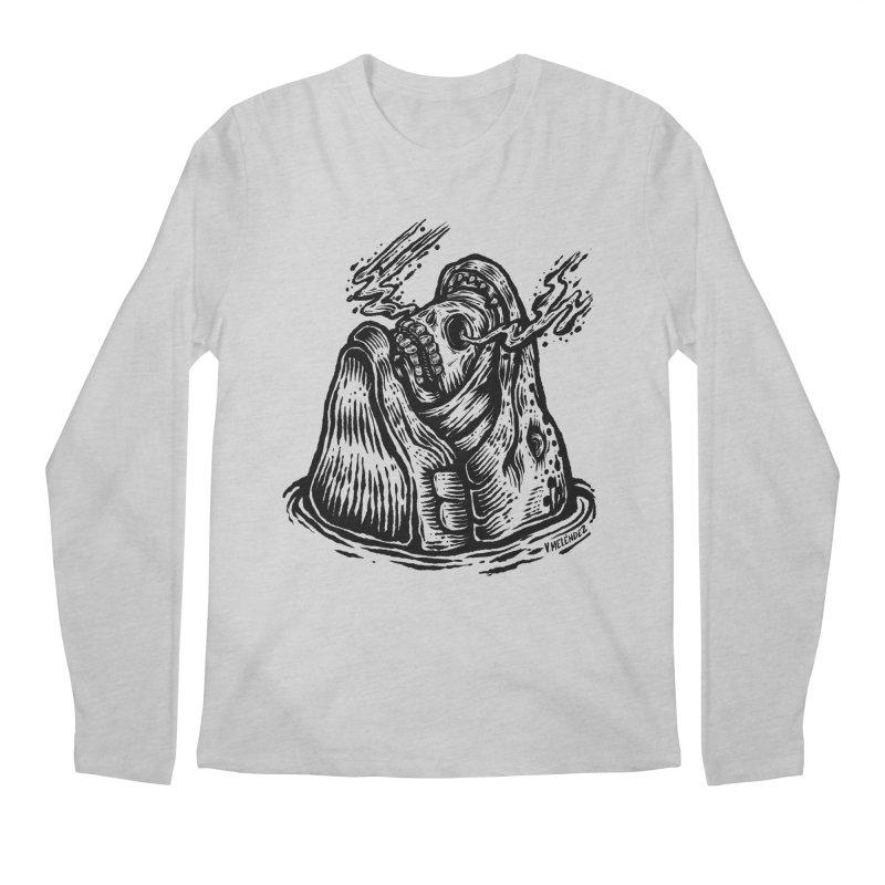 Fish Head Men's Regular Longsleeve T-Shirt by Victor Melendez
