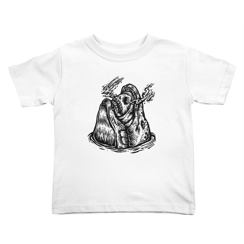 Fish Head Kids Toddler T-Shirt by Victor Melendez