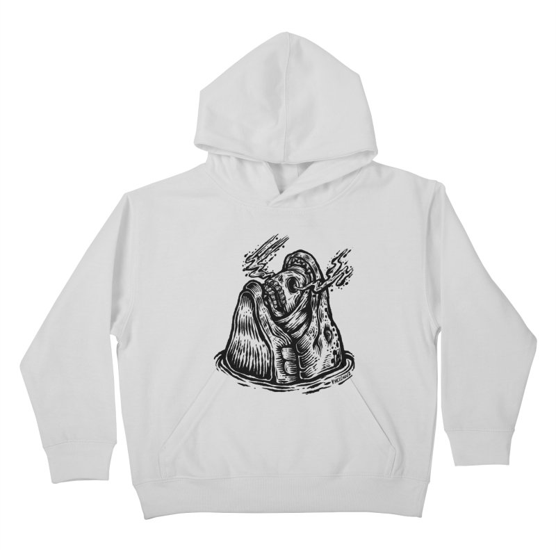 Fish Head Kids Pullover Hoody by Victor Melendez