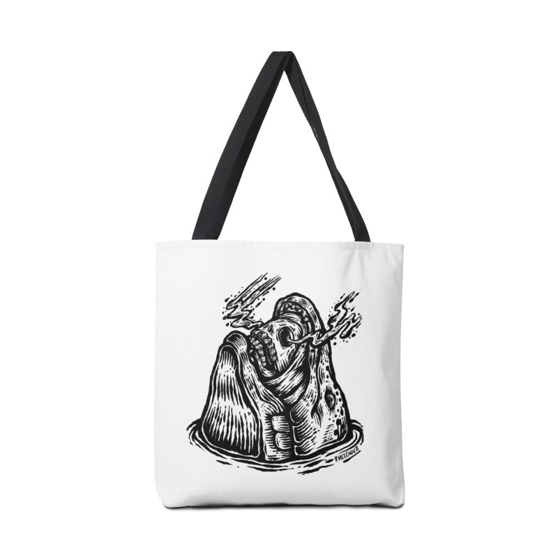 Fish Head Accessories Tote Bag Bag by Victor Melendez