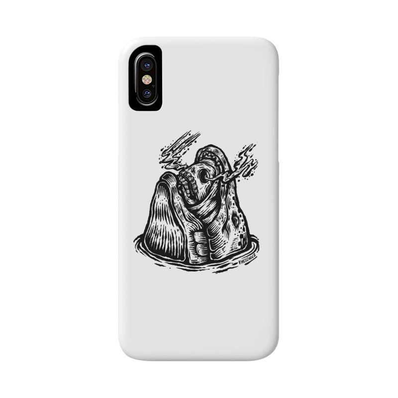 Fish Head Accessories Phone Case by Victor Melendez
