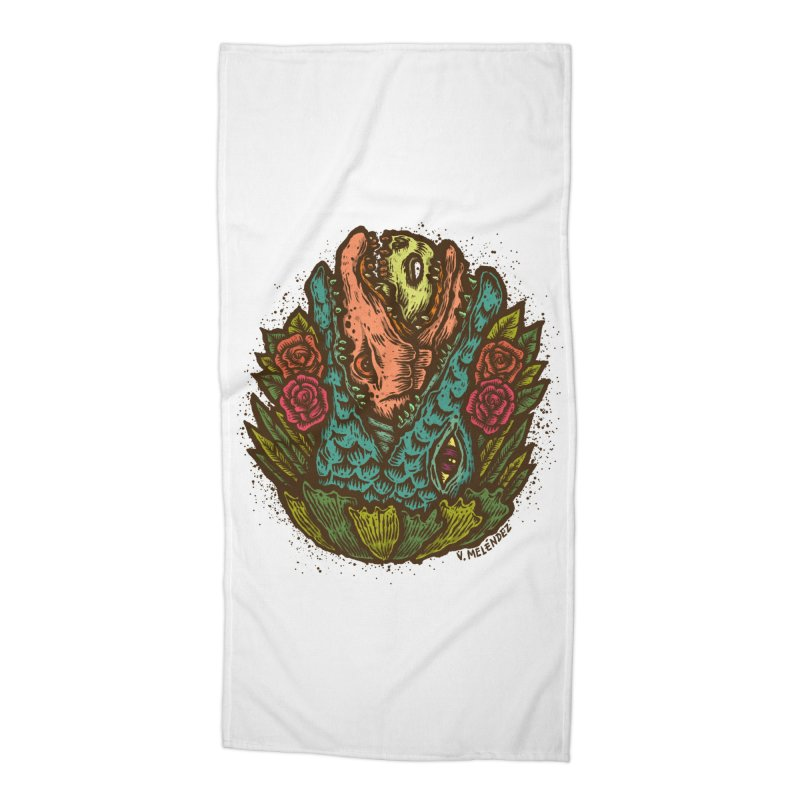 Nest Accessories Beach Towel by Victor Melendez
