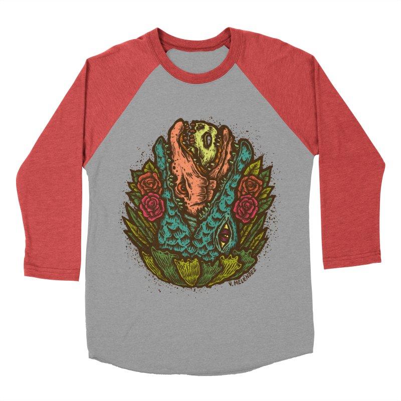 Nest Women's Baseball Triblend Longsleeve T-Shirt by Victor Melendez