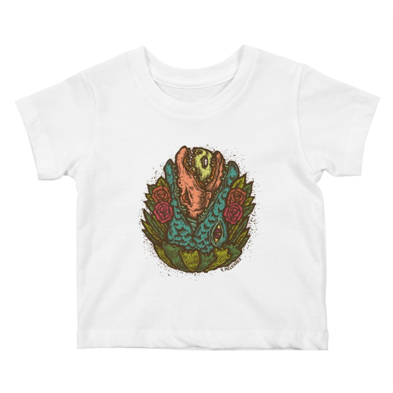 Nest Kids Baby T-Shirt by Victor Melendez