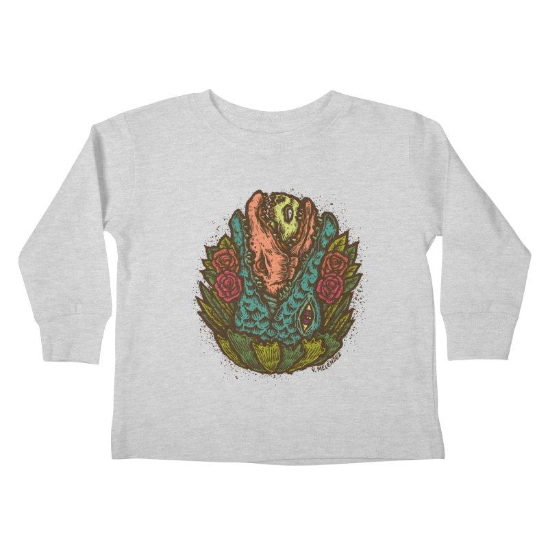 Nest Kids Toddler Longsleeve T-Shirt by Victor Melendez