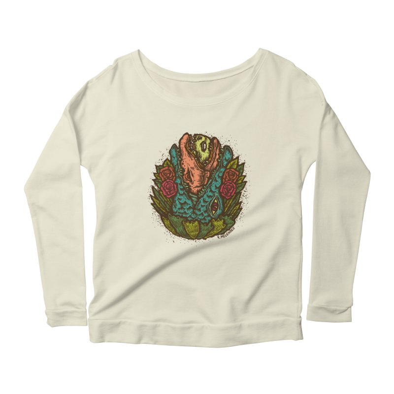 Nest Women's Scoop Neck Longsleeve T-Shirt by Victor Melendez