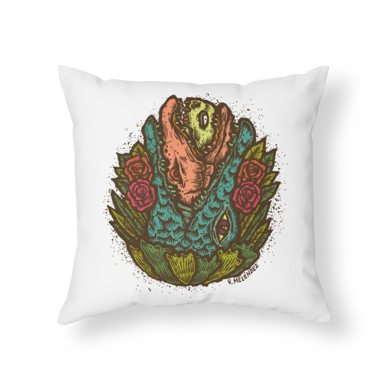Nest Home Throw Pillow by Victor Melendez