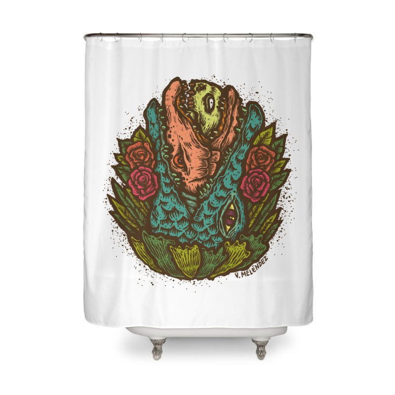 Nest Home Shower Curtain by Victor Melendez