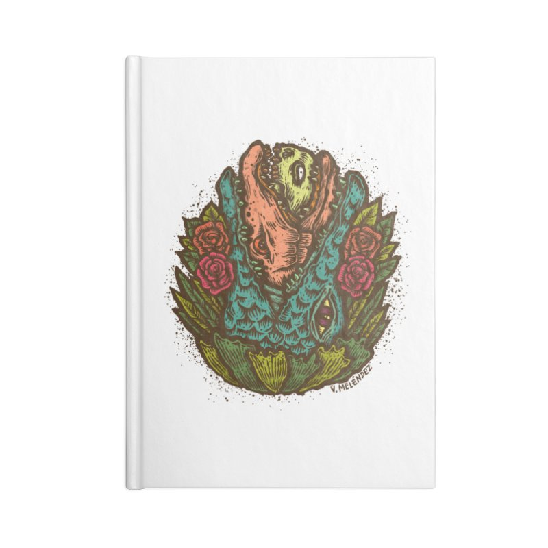 Nest Accessories Blank Journal Notebook by Victor Melendez