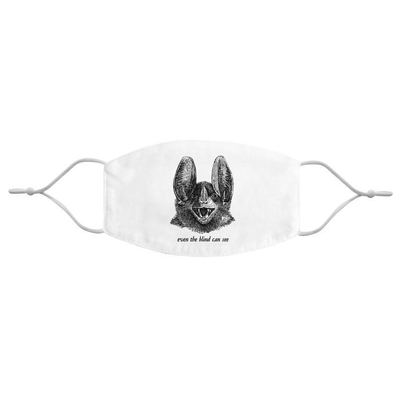 Even the Blind Can See Accessories Face Mask by Victory Screech Labs