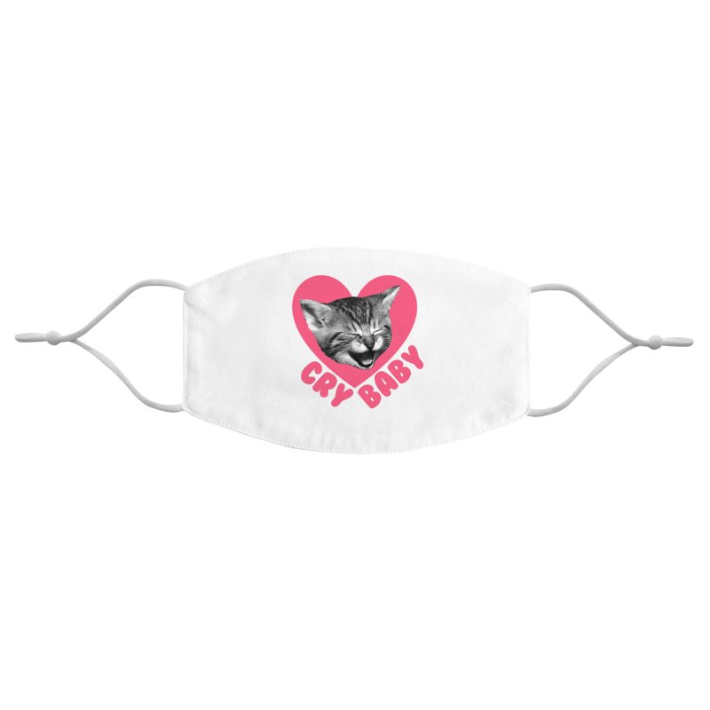 Cry Baby Accessories Face Mask by Victory Screech Labs