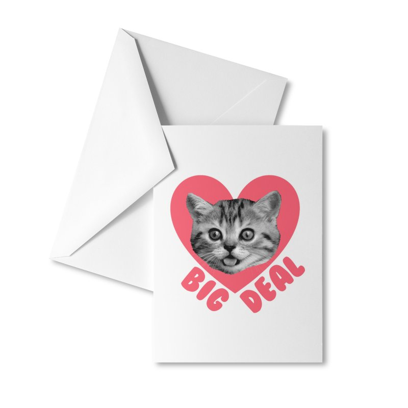 Big Deal Accessories Greeting Card by Victory Screech Labs