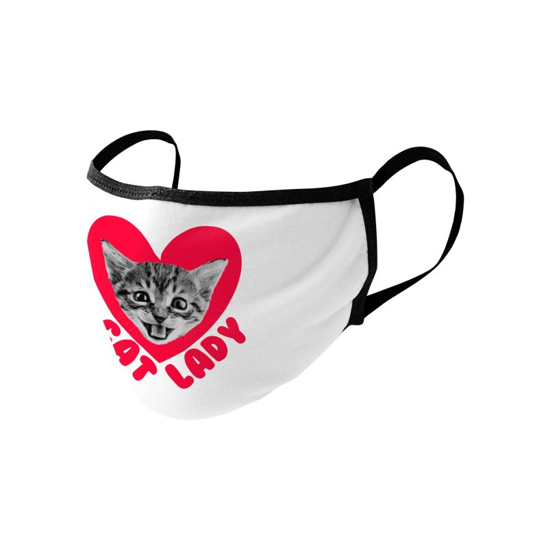 Cat Lady Accessories Face Mask by Victory Screech Labs