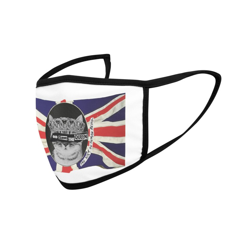 God Save the Kween Accessories Face Mask by Victory Screech Labs