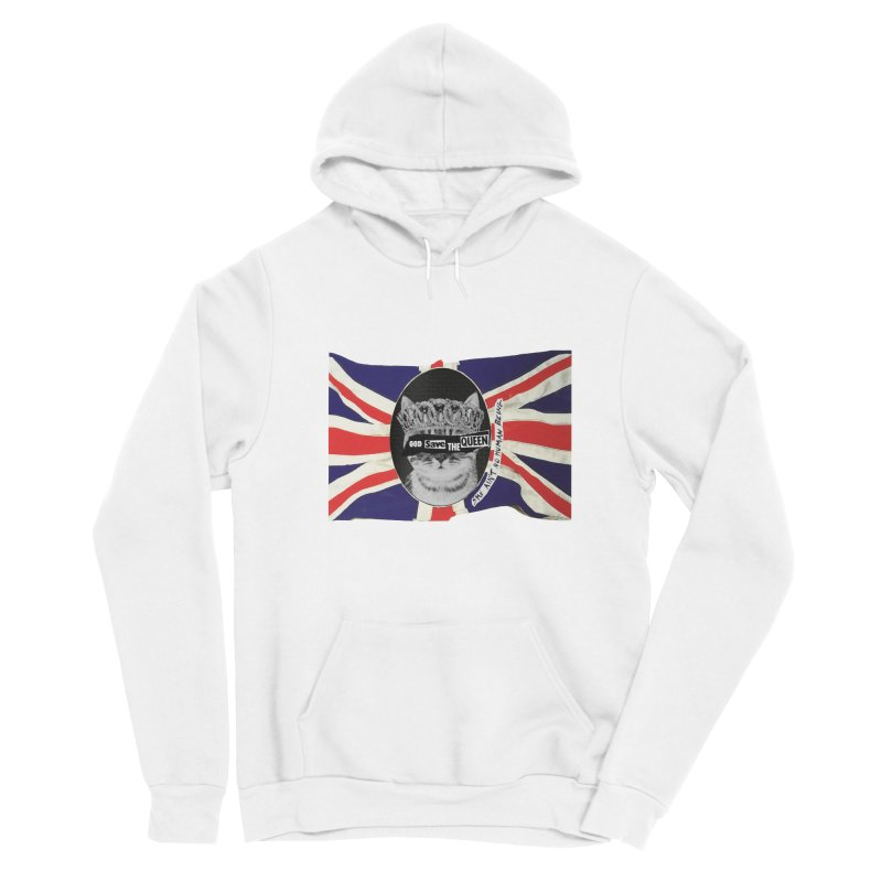 God Save the Kween Men's Pullover Hoody by Victory Screech Labs