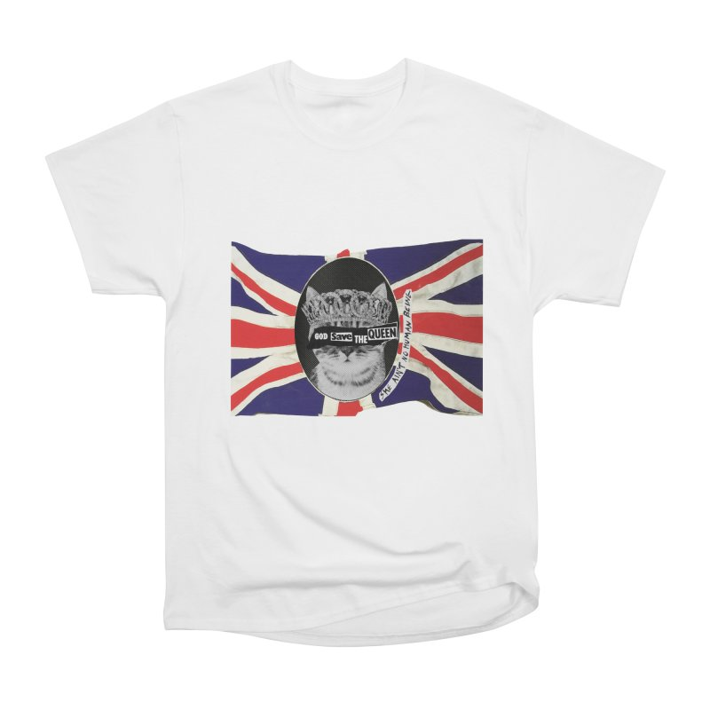 God Save the Kween Men's T-Shirt by Victory Screech Labs