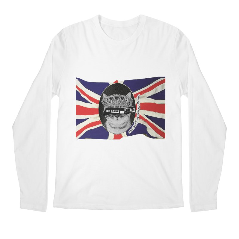 God Save the Kween Men's Longsleeve T-Shirt by Victory Screech Labs