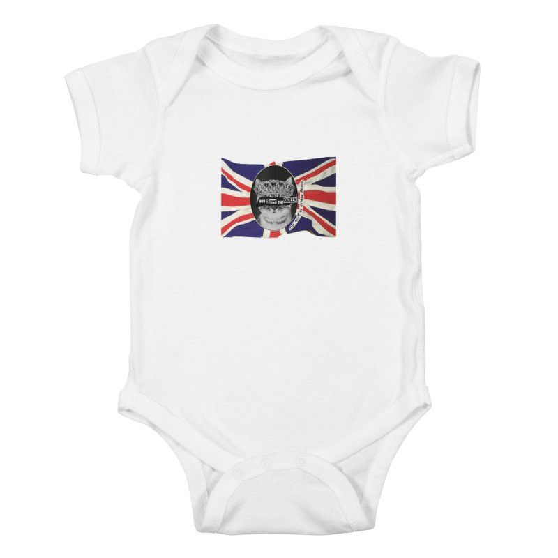God Save the Kween Kids Baby Bodysuit by Victory Screech Labs