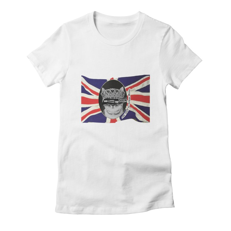 God Save the Kween Women's T-Shirt by Victory Screech Labs