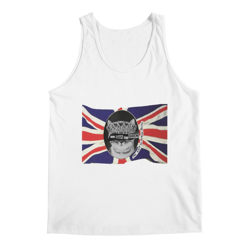 God Save the Kween Men's Tank by Victory Screech Labs