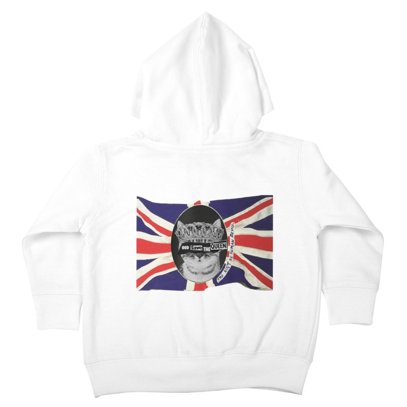 God Save the Kween Kids Toddler Zip-Up Hoody by Victory Screech Labs