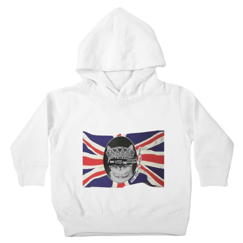 God Save the Kween Kids Toddler Pullover Hoody by Victory Screech Labs