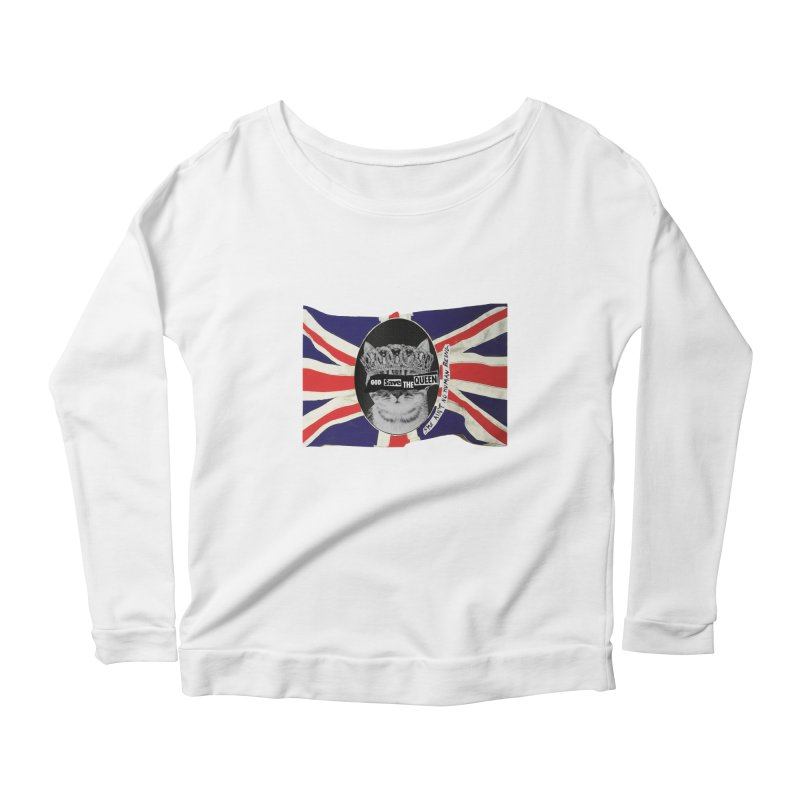 God Save the Kween Women's Longsleeve T-Shirt by Victory Screech Labs