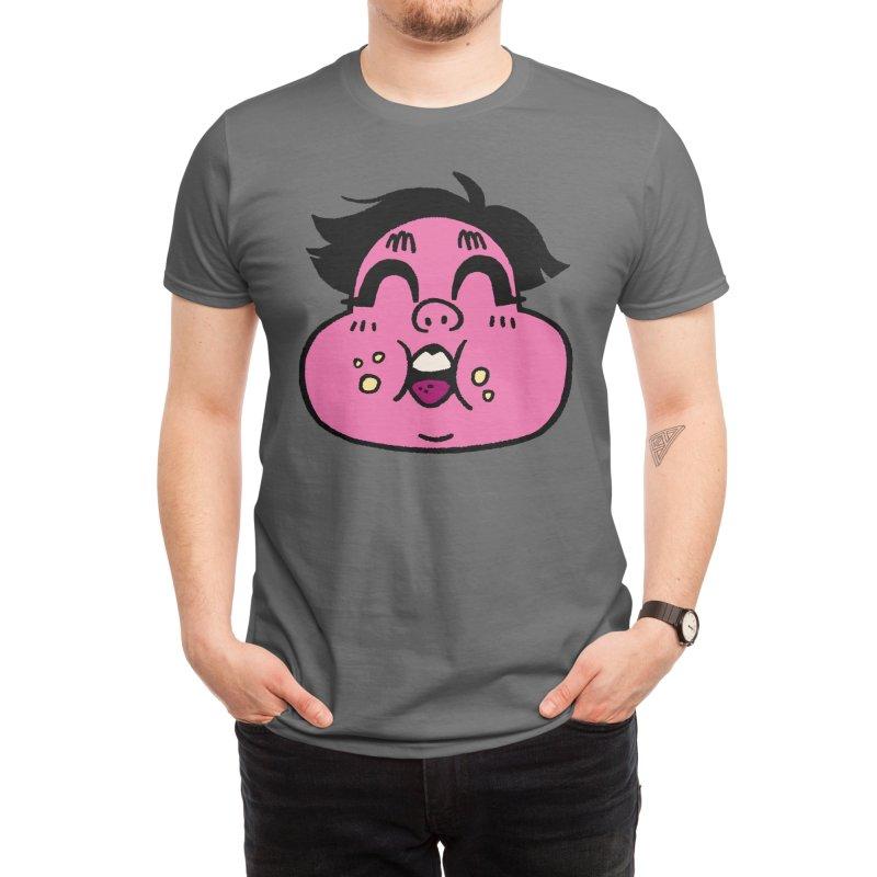 Mouthful Men's T-Shirt by VI DRAWS TEES