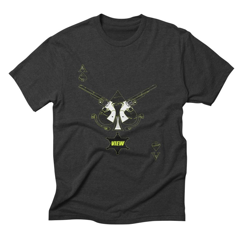 View Ace Men's Triblend T-Shirt by View From Brooklyn T-Shirt Shop