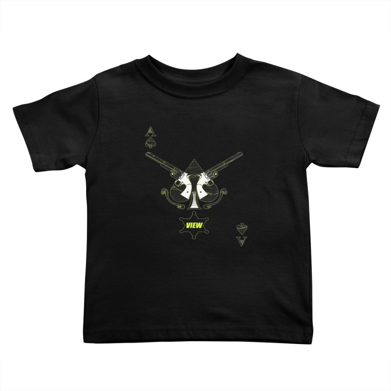 View Ace Kids Toddler T-Shirt by View From Brooklyn T-Shirt Shop