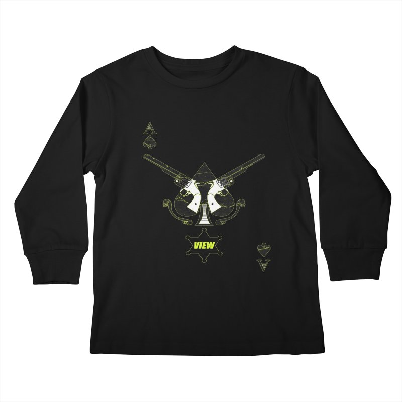 View Ace Kids Longsleeve T-Shirt by View From Brooklyn T-Shirt Shop