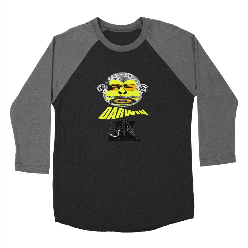 Darwin Monkey Women's Longsleeve T-Shirt by View From Brooklyn T-Shirt Shop
