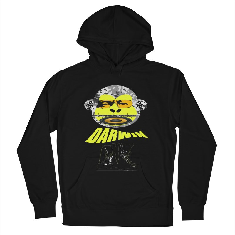 Darwin Monkey Women's Pullover Hoody by View From Brooklyn T-Shirt Shop