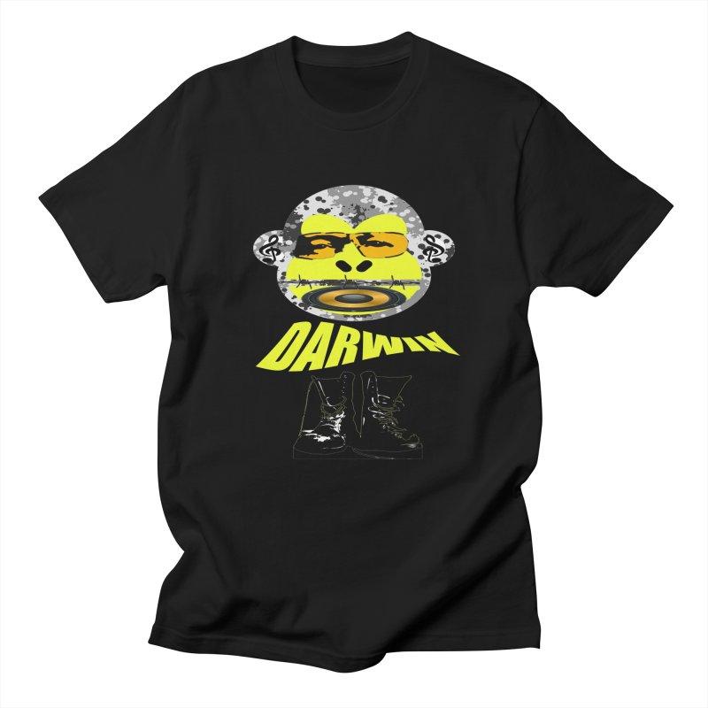 Darwin Monkey Men's T-shirt by View From Brooklyn T-Shirt Shop