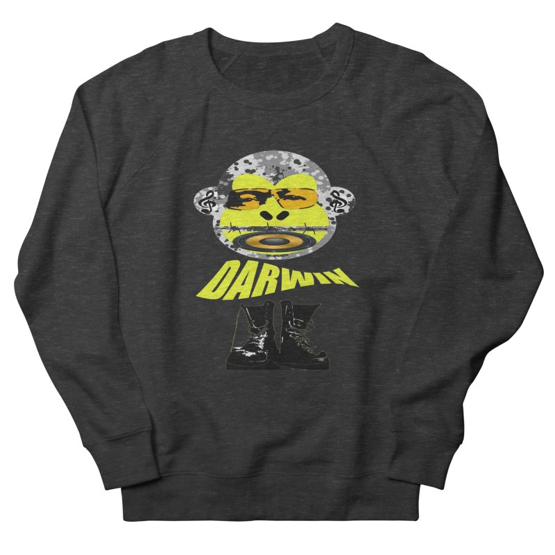Darwin Monkey Women's French Terry Sweatshirt by View From Brooklyn T-Shirt Shop