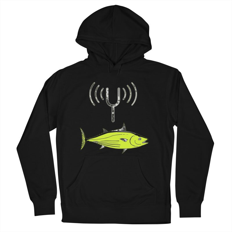 Tuner Fish Women's Pullover Hoody by View From Brooklyn T-Shirt Shop