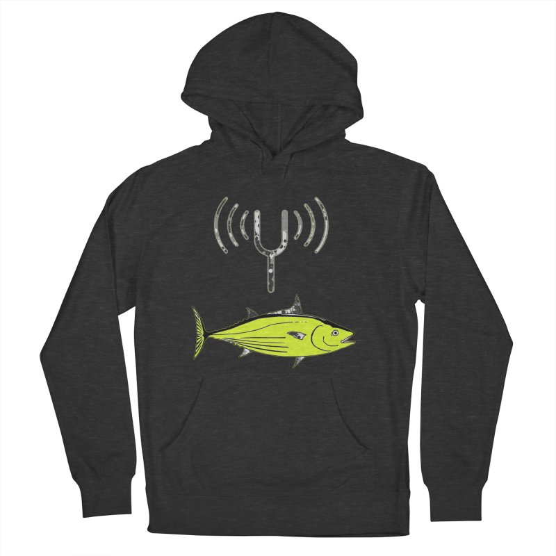 Tuner Fish Men's French Terry Pullover Hoody by View From Brooklyn T-Shirt Shop